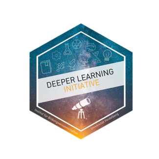 Logo Deeper Learning Initiative Quadrat freigestellt